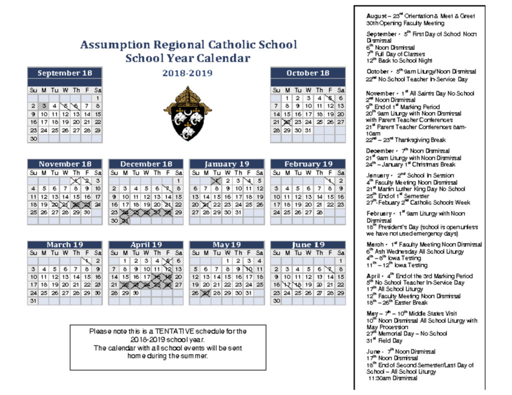 thumbnail of school-year-calendar 2018-2019